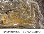 marble abstract acrylic... | Shutterstock . vector #1076436890