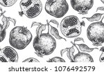 seamless vector pattern with... | Shutterstock .eps vector #1076492579