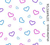 seamless pattern. multi colored ... | Shutterstock .eps vector #1076495726