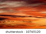 season specific colorful sky in ... | Shutterstock . vector #10765120
