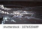 empty smooth abstract room... | Shutterstock . vector #1076520689