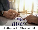 business and partners... | Shutterstock . vector #1076552183