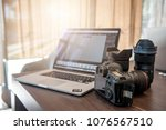 digital photography workstation.... | Shutterstock . vector #1076567510