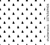 abstract triangle pattern. hand ...   Shutterstock .eps vector #1076569406