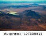 aerial view of eduardo avaroa... | Shutterstock . vector #1076608616