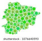 andorra map mosaic of random...