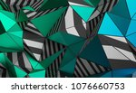 abstract 3d rendering of... | Shutterstock . vector #1076660753
