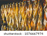 fish seafood factory   Shutterstock . vector #1076667974