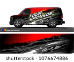 car graphic vector. abstract... | Shutterstock .eps vector #1076674886