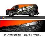 car graphic vector. abstract... | Shutterstock .eps vector #1076679860