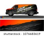 car graphic vector. abstract... | Shutterstock .eps vector #1076683619