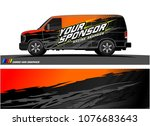 car graphic vector. abstract... | Shutterstock .eps vector #1076683643