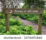Beware Of Cliff Edge Wooden...