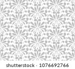 flower geometric pattern.... | Shutterstock .eps vector #1076692766