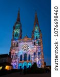chartres  france   may 21  2017 ... | Shutterstock . vector #1076698460