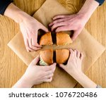 fast food restaurant....   Shutterstock . vector #1076720486