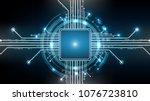 vector abstract background...   Shutterstock .eps vector #1076723810