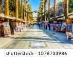 izmir  turkey   february 25 ... | Shutterstock . vector #1076733986