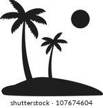 palm tree | Shutterstock .eps vector #107674604