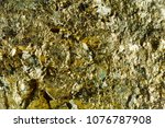 Small photo of Macro shooting of natural gemstone. Texture of mineral of arsenopyrite. Abstract background.