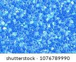 relief blue crystal backgrounds ... | Shutterstock . vector #1076789990