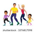 vector illustration of smiley... | Shutterstock .eps vector #1076817098