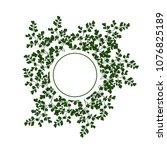 vector round frame made of hand ...   Shutterstock .eps vector #1076825189