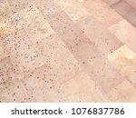 sand stone floor pattern... | Shutterstock . vector #1076837786