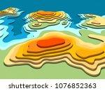 3d digital conceptual high...   Shutterstock . vector #1076852363
