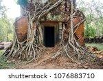most south sanctuary prasat...   Shutterstock . vector #1076883710
