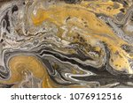 marble abstract acrylic... | Shutterstock . vector #1076912516