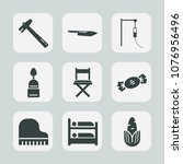 premium set of fill icons. such ... | Shutterstock .eps vector #1076956496