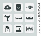 premium set of fill icons. such ... | Shutterstock .eps vector #1076956664