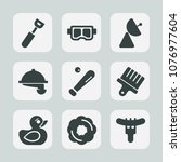 premium set of fill icons. such ...   Shutterstock .eps vector #1076977604