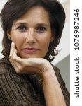 portrait of a woman | Shutterstock . vector #1076987246