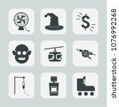 premium set of fill icons. such ... | Shutterstock .eps vector #1076992268