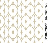vector golden mesh seamless... | Shutterstock .eps vector #1077008768