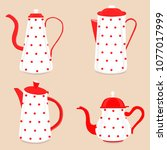abstract vector illustration... | Shutterstock .eps vector #1077017999