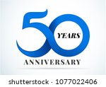 Stock vector  years anniversary anniversary emblems in anniversary concept template design 1077022406