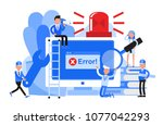 business people character... | Shutterstock .eps vector #1077042293