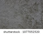gray background of concrete... | Shutterstock . vector #1077052520