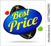 best price colorful offer... | Shutterstock .eps vector #1077068390