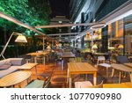 Restaurant Terrace In The...
