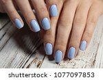 best manicure photo on... | Shutterstock . vector #1077097853
