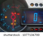 Small photo of in-car displays and fault lamps