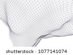 architectural drawing 3d  | Shutterstock .eps vector #1077141074