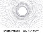 abstract architecture vector 3d ... | Shutterstock .eps vector #1077145094