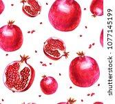 watercolor illustration.... | Shutterstock . vector #1077145199