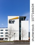 Small photo of Horsens, Denmark - April 2, 2018: Ernst & Young offices building. Ernst & Young also called EY is one of the largest professional services firm in the world and is one of the Big Four accounting firm