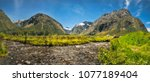 gertrude valley lookout  a... | Shutterstock . vector #1077189404